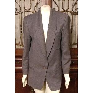 Adolfo International 100% Wool Blazer